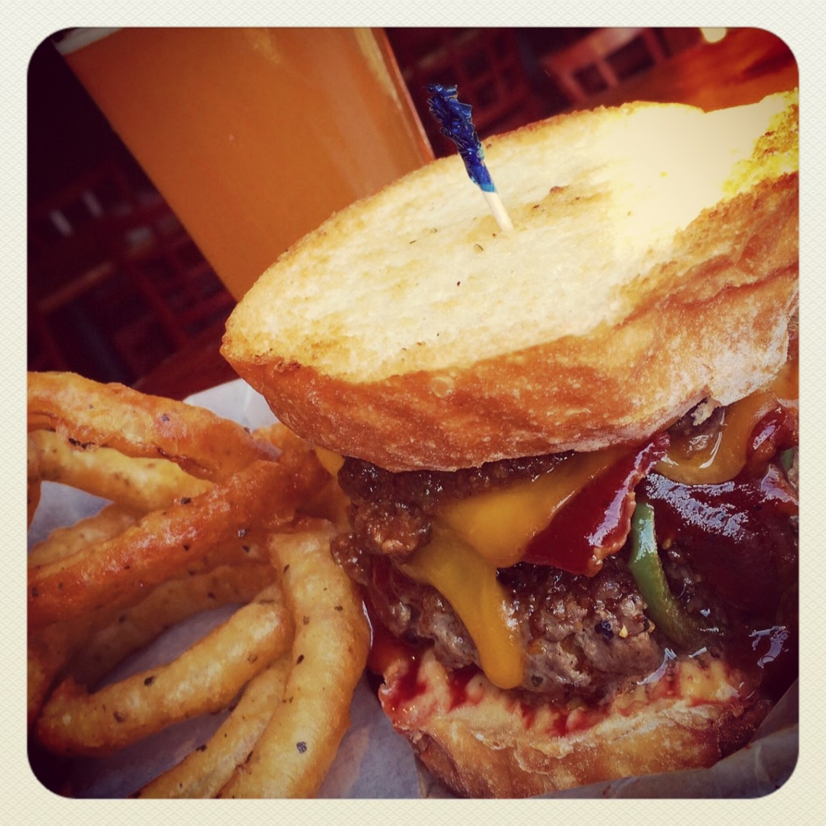 June Burger of the Month at Charleston Beer Works