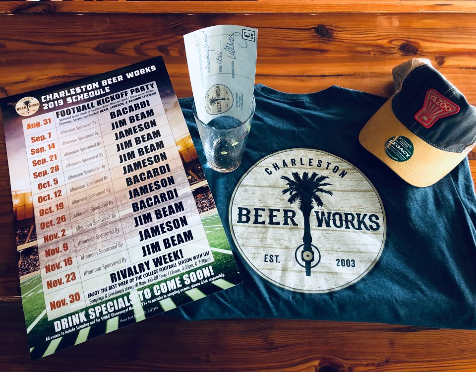 College Football Pick'em with Charleston Beer Works