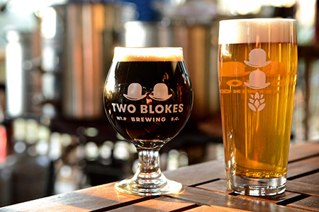 Two Blokes Brewing Charleston Beer Works